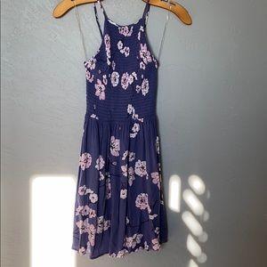 L.A Hearts flowy purple mini dress